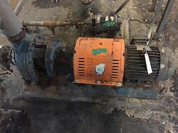 Goulds 3196lf 1x2-10 Centrifugal Pump 20 Gpm @ 110andrsquo Tdh 5hp 230-460/3/60