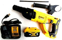 New Dewalt Dch133 20v Sds 1 Rotary Hammer Drill,1 Dcb205 5.0 Battery, Charger
