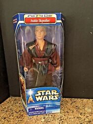 Hasbro Anakin Skywalker Hard To Find Attack Of The Clones 12 New In Package