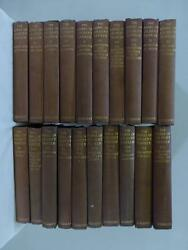 Antique 1913 The Works Of Gilbert Parker Scribners Lot Of 20 Books 1-9 11-21