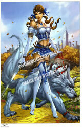 Grimm Fairy Tales Oz 1 Art Print - Signed By Jamie Tyndall 11x17