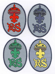 Philippine Scouts Bsp - Rover Scout Rs Advancement Rank Award Patch Set