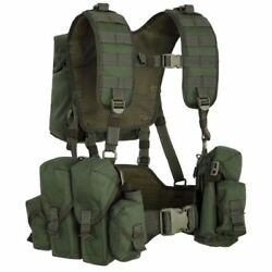 Russian Chest Rig Vest Tactical Molle Airsoft Olive Green Od Smerch Smersh Sso
