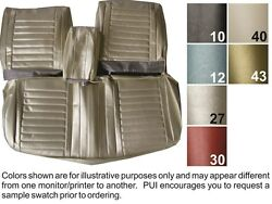 1967 Oldsmobile Cutlass Holiday / Supreme Front And Rear Seat Covers - Pui