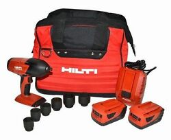 Hilti Siw 18t-a 18v 1/2 Impact Wrench Cordless Kit Brand New