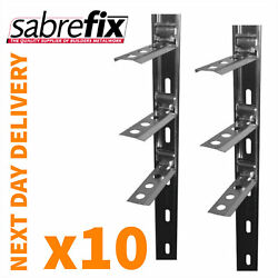 10 X Wall Starter Kits - Stainless Steel - Ties And Fixings Uk Made / Next Day Foc