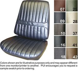 1971-72 Oldsmobile Cutlass Supreme Front Seat Covers - Pui