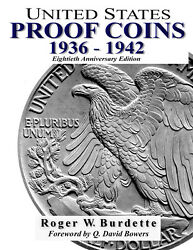 United States Proof Coins 1936 -1942 Book Eightieth Anniversary Edition 2017 Us