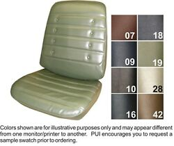 1971 Oldsmobile Cutlass / S Front And Rear Seat Covers - Pui