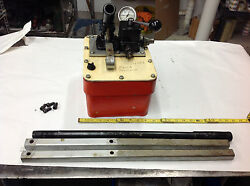 2-way Hydraulic Pump Pumps 10k Psi But Slowly Looses Pressure. Parts Unit Only