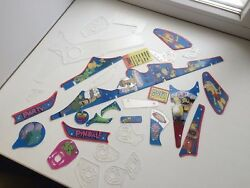 Simpsons Pinball Party Tspp Plastic Replacement Set, Also Selling By Parts