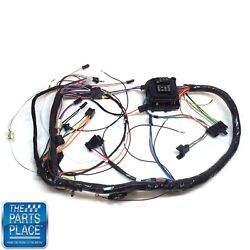 1972 Chevelle / Monte Carlo Dash Harness Complete With Warning Lights