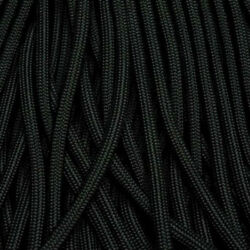 3x100 Ft 550 Paracord Black Jet Black Usa Made And Seller Same Day Shipping