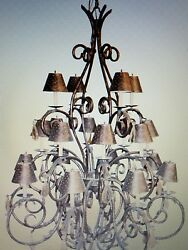 Custom Michele Chandelier 6and039 Tall With 20 Lights