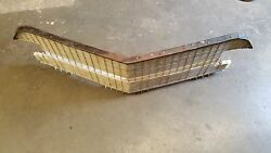 1956 Cadillac Front Grille With Mounting Brackets 2and4 Door And Convertible