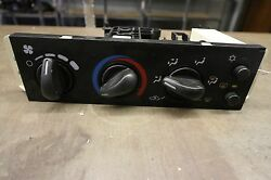 2001-2004 Chevy Cavalier Climate control