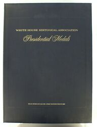 White House 38 Presidential Medals 1st Edition Proof Set Sterling Silver I-531d
