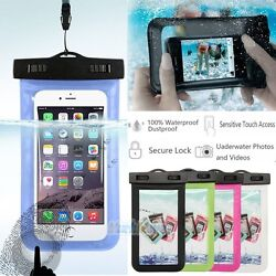Waterproof Bag Underwater Pouch Dry Case Cover Touchscreen For iPhone Cell Phone $4.59