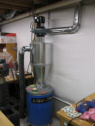 Cyclone Separator - 4 Inch Inlet On Right Made From Galvanized Steel