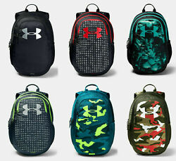 Under Armour UA Scrimmage 2.0 YOUTH STORM Backpack 19quot; LAPTOP BAG BLACK RED $45 $37.95