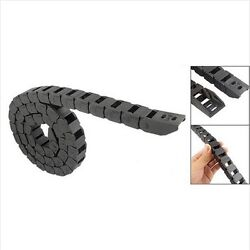 Black Cable Drag Chain Wire Carrier L1000mm 40for 3d Printer Cnc Router R28 R38
