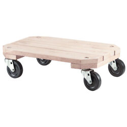 Shepherd 9854 Solid Wood Furniture Dolly 12-1/2 H X 18-1/4 W X 25 L In.