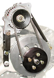 S/b Chevy Denso 60 Amp Mini One Wire Alternator Kit For Short Water Pump 1623