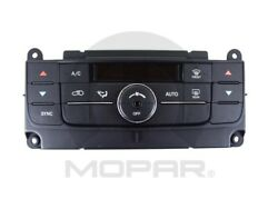 AC and Heater Control Switch MOPAR fits 2013 Jeep Grand Cherokee 3.6L-V6