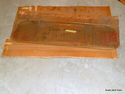 Nos 1971-1981 International Pickup Scout Ii Flat Back Cab Window Clear Dt1113