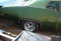 Original Paint Solid Sc 1971 72 Plymouth Roadrunner Gtx Parts Car Donor Body