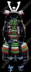 Japanese Iron And Silk Knoted Rüstung Samurai Knotted Armor Wearable 016