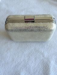 Carolee Silver Evening Handbag Clutch $19.99