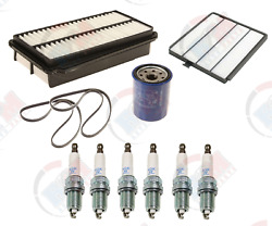 1999-2001 Honda Odyssey Tune Up Kit Air-oil-cabin Filters-plugs-belts