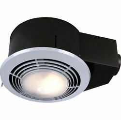 Exhaust Fan100-CFM Ceiling Bathroom Ventilation FanBath Vent W Light