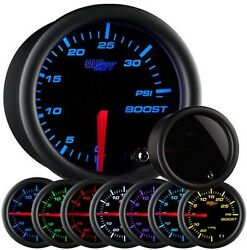 Glowshift Tinted 7 Color 35 Psi Boost Gauge Glow Shift Boost Gauge Gs-t701_35