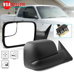 Tow Side Mirrors For 94-97 Dodge Ram 1500 2500 3500 Power Left+right 1994-1997