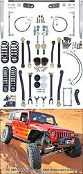 Currie CE-9807A Johnny Joint Suspension System Fits 07-18 Wrangler (JK)