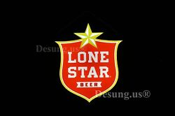 Rare New Lone Star Texas Beer Led 3d Neon Sign 20