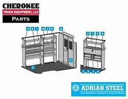 Adrian Steel 5465 Cable Package For Promaster 118 Wb