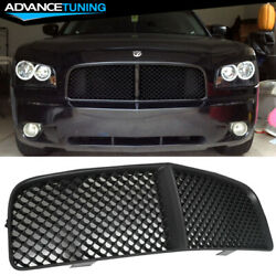 Fits 05-10 Dodge Charger Black Euro Mesh Front Hood Grill Grille Brand New