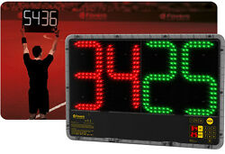 Football - Soccer Substitute And Extra Time Electronic Scoreboards