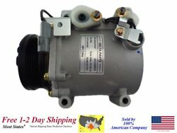 New A/c Ac Compressor With Clutch For 2000-2002 Mirage 1.5l Engines
