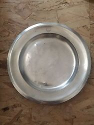 Christofle Plate Ss Normandie Cgt French Line Art Deco