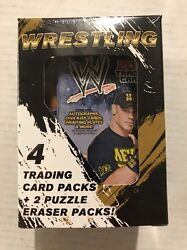 Wwf Wrestling Gift Box Lot Of 12, Collectors Cards And More. Birthday Swag