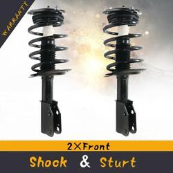 Front Shocks Struts And Springs Assembly Pair For 06-11 Buick Lucerne Cadillac Dts