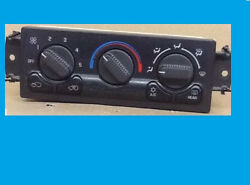 2000 01 02 CHEVY AVALANCHE GMC SIERRA AC HEATER CLIMATE CONTROL + REAR DEFROST