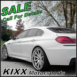 20 Rohana Rc10 Silver Concave Wheels Rims Fits Bmw F12 F13 640 650 Coupe