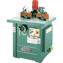 G5912Z Grizzly 5 HP Professional Spindle Shaper - Z Series