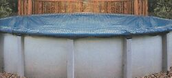 Round Above Or In-ground Swimming Pool Winter Leaf Net Covers Various Sizes