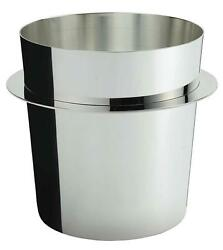 Ercuis Saturne Silver Plate Champagne / Ice Bucket 7.87 Height